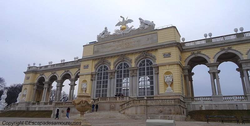 Schönbrunn la gloriette